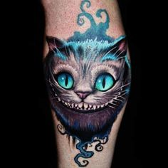 For those who may not be familiar, the Cheshire cat is an enigmatic cat-shaped creature from Lewis Carroll's Alice in Wonderland. Description from richmondtattooshops.com. I searched for this on bing.com/images