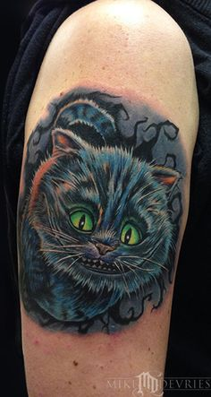 Mike DeVries - Cheshire Cat Tattoo