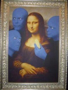 BLUE MAN GROUP MONA