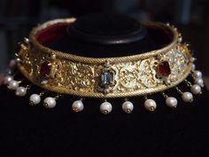 Renaissance Jewelry, Medieval Jewelry, Ancient Jewelry, Antique Jewelry, Vintage Jewelry, Royal Jewelry, Gold Jewelry, Jewelry Accessories, Jewelry Design