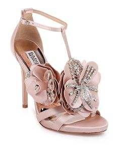 Women's Badgley Mischka Lisa Sandal, Size 9 M - Pink Ankle Strap Sandals, Wedding Shoes Bride, Bridal Shoes, Lolita Shoes, Flower Shoes, Badgley Mischka Shoes, Fancy Shoes, Women's Shoes, Heels