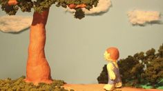 "A claymation of the short story ""The Giving Tree"" by Shel Silverstein.     Voice over by Luke Knecht"