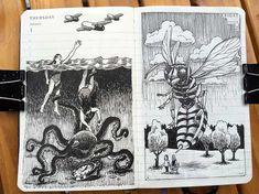 Nina Johansson » Drawing from imagination