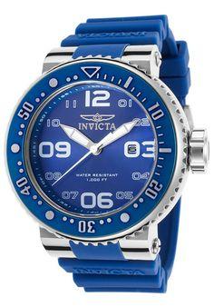 Invicta Watches Men's Pro Diver Blue Silicone and Dial 21519,    #Invicta,    #21519,    #Diver