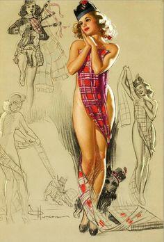 K. O. Munson  Novembe, 1950 calendar