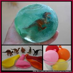 Dollar Store Crafter: Make These Frozen Dinosaur Eggs Using Dollar Store...