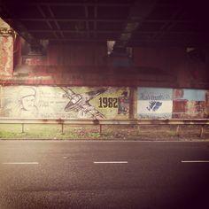 Palermo. Av Libertador, antes de llegar a Dorrego #Mural #hablan