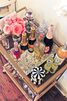 Chronicles of Frivolity Bar Cart