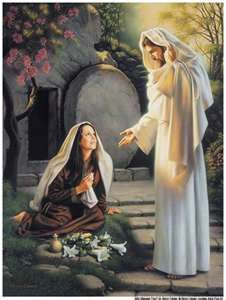A woman was first to see the rised Christ