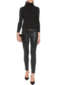 Shop on-sale J Brand Kassidy leather skinny pants. Browse other discount designer Pants & more on The Most Fashionable Fashion Outlet, THE OUTNET.COM