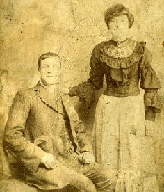 I think these are my great-great grandparents, Edward Griggs and Elizabeth Matthews, taken about 1896, Poplar, London