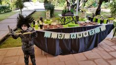 Cake table / Mesa del Pastel