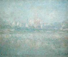 Titre de l'image : Claude Monet - Vetheuil in the Fog