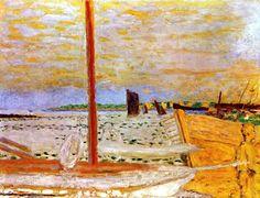 Pierre Bonnard (1867-1947) The Yellow Boat, c. 1936-1938