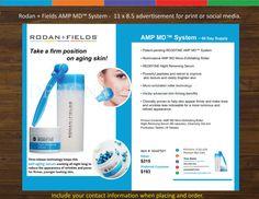 Rodan  Fields Flyer AD AMP MD System by DesignsByStacyStudio