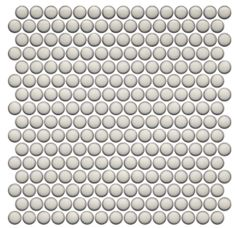 Penny Round Tile Vintage Pearl White for kitchen backsplash, bathroom including shower floor as well as wall applications, and swimming pool. Penny Round Tiles, Penny Tile, Cottage Style Bathrooms, Guest Bathrooms, Downstairs Bathroom, Bathroom Art, White Bathroom, Modern Bathroom, Master Bathroom