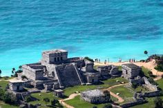 Mayan ruins in tulum, mexico. Truly amazing. Then after all the walking, why not…