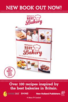"New Holland Publishers are promoting ""Britain's Best Bakery"" in London with a two week outdoor advertising campaign from Out of Home International. Good Bakery, Best Bakery, Out Of Home Advertising, New Press, New Holland, Bakeries, Press Release, New Books, Britain"