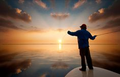 #Fishing at #sunset on http://youpic.com/image/2897623  by Montcristo607 #youpic #Photography #inspiration