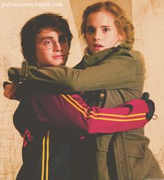 goblet of fire-HP and Hermione