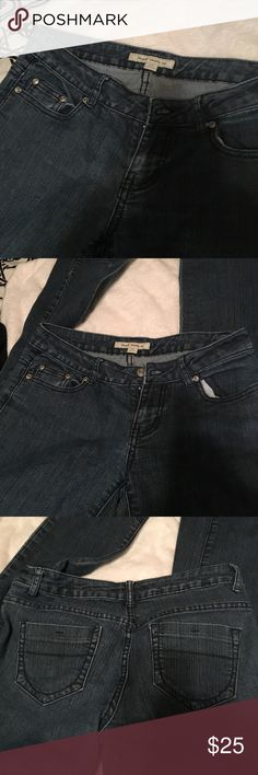 Forever 21 jeans Really nice for forever 21 jeans, size 29 inseam 29 inches like 8 inches Forever 21 Jeans Boot Cut