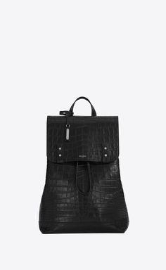 sac de jour backpack in crocodile embossed leather 7fb421b722dbc
