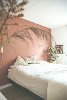 , , home accessories retail Schn fr Ihr Schlafzi., , home accessories retail my scandinavian home: Duvet Day In This Cosy 'Forever Autumn' Bedroom? Home Bedroom, Bedroom Decor, Bedroom Wall Colors, Terracota, Decorating Small Spaces, Home Decor Accessories, Cheap Home Decor, Home Remodeling, Decoration