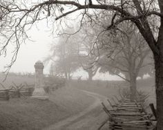 """Bloody Lane, Antietam National Battlefield - In September of 1862 23,000 soldiers were killed in what was the bloodiest one-day battle in American History. Phantom gunfire, shouting and singing has been reported in the area known as """"Bloody Lane""""."""