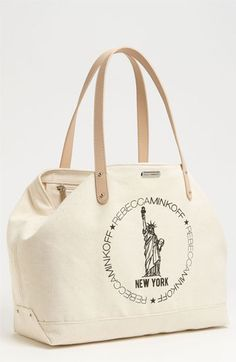 Great tote! Rebecca Minkoff's Ode to New York