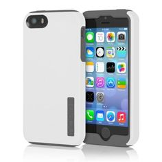 Incipio-Dual-protection-Hard-Shell-For-Apple-Iphone-5-5s-Case-Cover-Skin-White