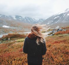 [Photo by alexstrohl on Instagram] The beginning of my favourite season - fall in the high grounds of Norway