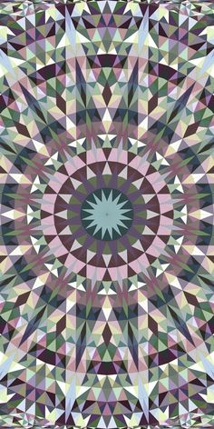 Colorful seamless kaleidoscope pattern background design - abstract symmetrical vector mandala wallpaper illustration with triangles Mandala Pattern, Mandala Design, Mandala Art, Geometric Pattern Design, Geometric Graphic, Triangle Background, Background Patterns, Trippy Wallpaper, Mobile Wallpaper