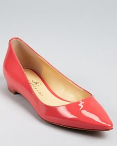 IVANKA TRUMP Flats - Annulio Pointed Toe | Bloomingdale's