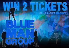 Thank You KGS for the opportunity to win tickets to the fabulous Blue Man Group.