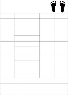 infant blank lesson plan sheets | Above is an image of the planner ...