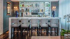 Bar e bancada em marmore carrara