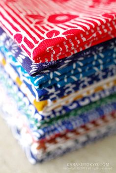 Japanese washcloth, Tenugui 手ぬぐい