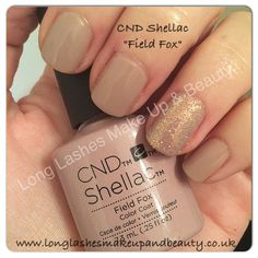 CND Shellac Field Fox from the Flora & Fauna Collection; my new favorite!