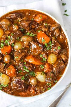 The perfect winter warmer dinner. Ideal for - : Beef Bourguignon - Beef Bourguignon – Easy & Delicious Beef Stew Recipe. The perfect winter warmer dinner. Ideal for - Beef Bourguignon Slow Cooker, Slow Cooker Beef, Slow Cooker Recipes, Pressure Cooker Beef Stew, Slow Cook Beef Recipes, Instant Pot Beef Bourguignon Recipe, Stewing Beef Recipes, Easy Stew Recipes, Beef Casserole Recipes
