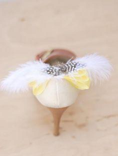 DIY Shoes Makeover : DIY Fancy Bridal Shoe Clips
