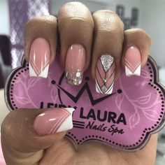 Acrylic nails is the best place for your nails Manicure Nail Designs, Fall Nail Designs, Nail Manicure, Beauty Spa, Nail Spa, Perfect Nails, French Nails, Love Nails, You Nailed It