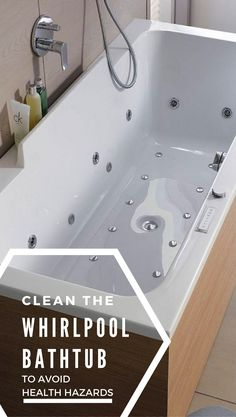Charmant Keep Your Jets Clean To Avoid The Health Hazards Associated With Filthy  Water In Your Whirlpool Bathtub.