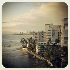 Looking toward Waikiki from Diamondhead side