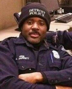 Police Officer Myron Jarrett was struck and killed at approximately pm by a hit-and-run driver while assisting other officers during a traffic stop near the intersection of Puritan Avenue and Monica Street. Officer Down, Police Officer, Detroit Police Department, Fallen Officer, Police Lives Matter, Police Life, Law Enforcement Officer, State Of Michigan, Emergency Response