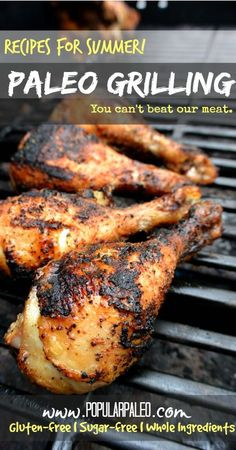 Sixty recipes that showcase delicious, creative and convenient Paleo grilling recipes--just in time for summer festivities! - Popular Paleo