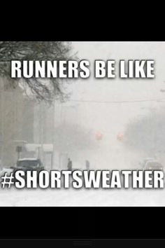 once I ran in freezing rain in shorts and a t-shirt #michiganweather #shortsweather
