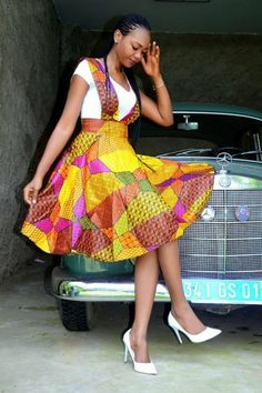 African clothing & Ankara Styles for this Wednesday - Reny styles African clothing & Ankara Styles for this Wednesday, it's addition admirable day, yes the anniversary is about to end again. African Dresses For Women, African Print Dresses, African Attire, African Wear, African Fashion Dresses, African Women, African Prints, African Outfits, African Style