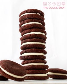 cookies – The Cookie Shop Homemade Oreos, Homemade Cookies, Gourmet Cupcakes, Pasta, Sugar And Spice, Cookie Jars, Donuts, Recipies, Spices