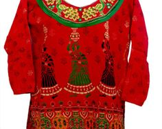 Women's Clothing Block Print Top Summer Wear by RajasthaniDresses