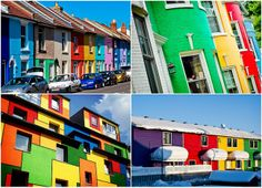 #Colorful Houses Around The World